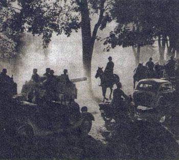 Вторая мировая война 1939 год захват